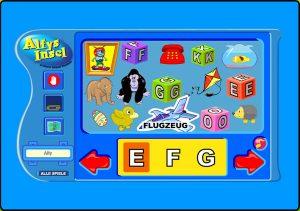 Alfys Insel - ABC-Spielzeugkiste