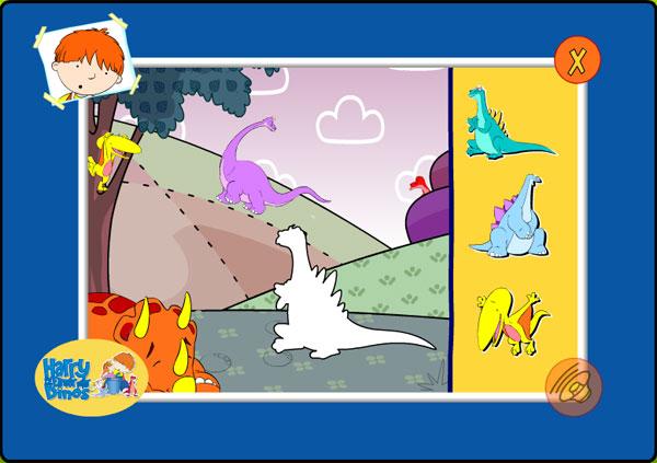Harry und sein Eimer voller Dinos - Finde alle Dinofreunde