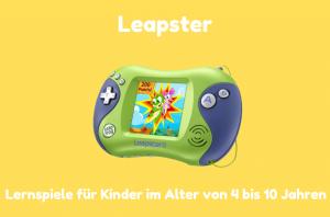 Leapster Lernkonsole