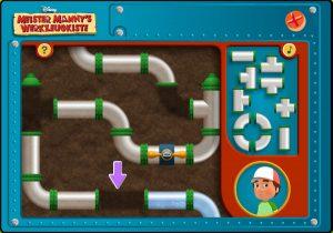 Meister Mannys Werkzeugkiste - Mannys Puzzle Rohre