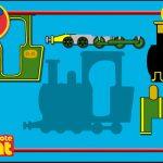 Postbote Pat - Baue die Lokomotive
