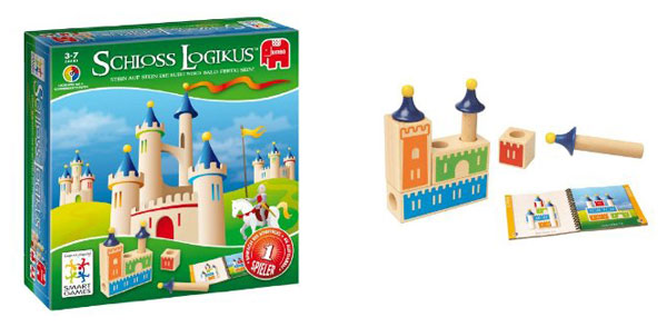 Schloss Logikus Spielaufbau