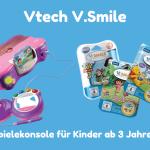 Mit der Vtech V.Smile-Konsole die Umwelt entdecken
