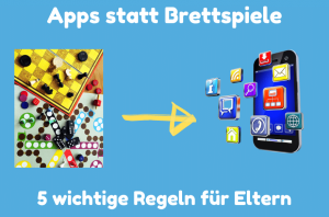 Apps statt Brettspiele