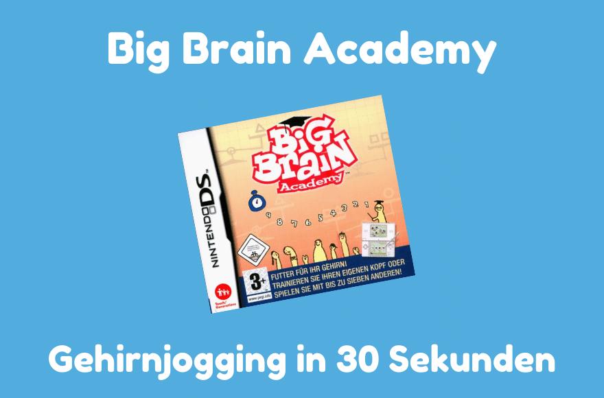 Big Brain Academy für Nintendo DS