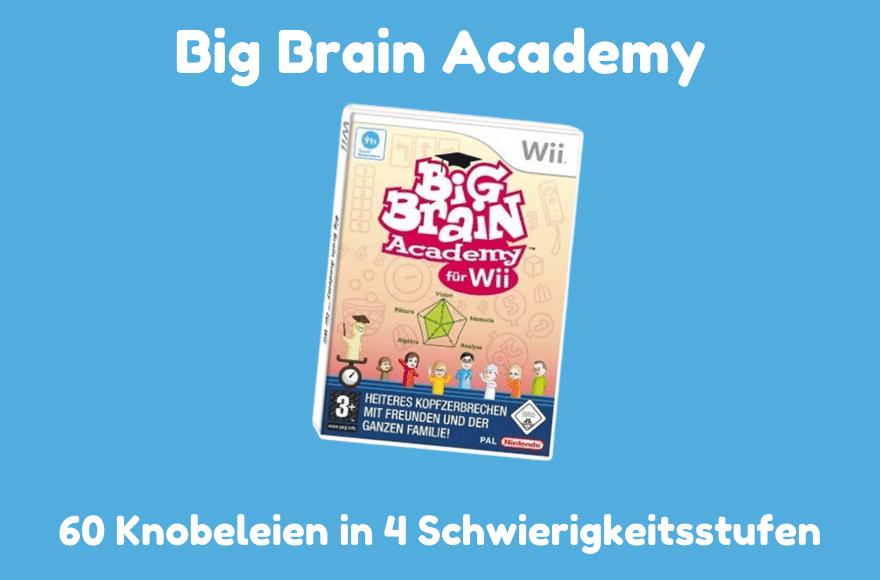 Big Brain Academy für Nintendo Wii